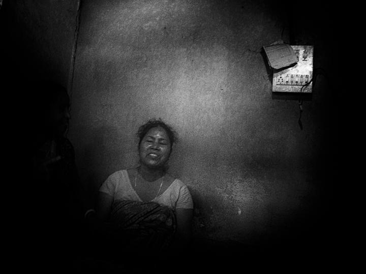 contraste technique grain argentique de Guy Monnet noir et blanc