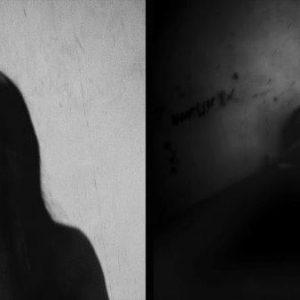 visage de madone prostituée Colon street Cebu Philippines photo de Guy Monnet noir et blanc de la série cris dans la nuit